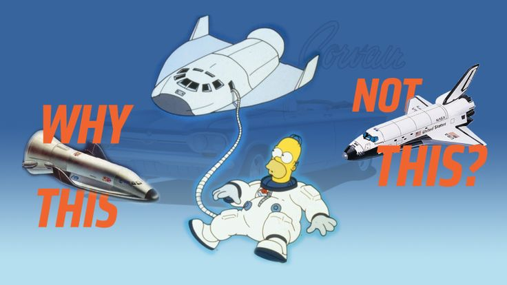 The Mystery Of The Space Shuttle In That Simpsons Episode Where Homer Went To Space