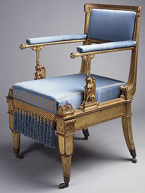 Karl Friedrich Schinkel: Armchair (1996.30) | Heilbrunn Timeline of Art History | The Metropolitan Museum of Art