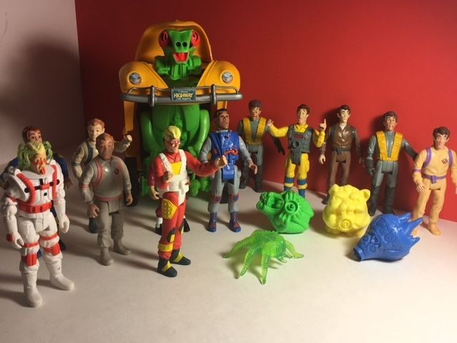 VINTAGE 1987 GHOSTBUSTERS ACTION FIGURE LOT VW VOLKSWAGON BUG EGON RAY PETER TOY  | eBay