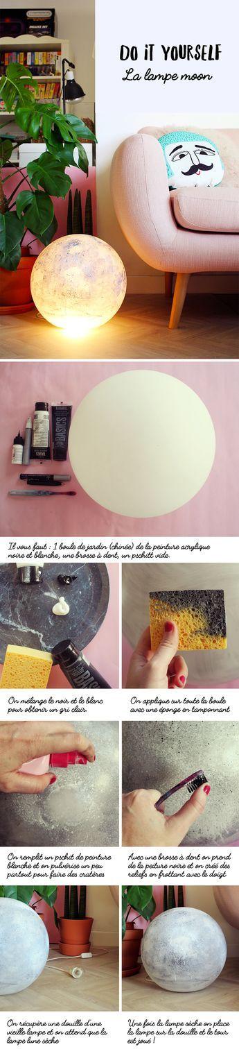 DIY : la lampe moon