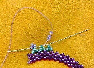 Free Freeform Peyote Bracelet Tutorial