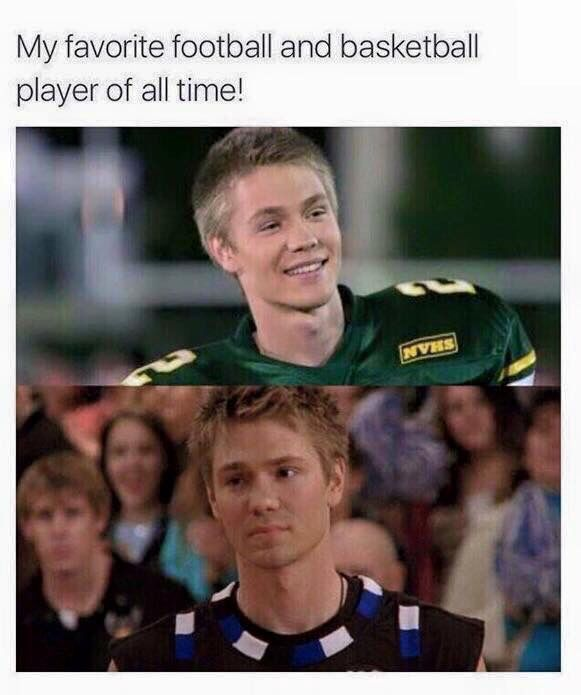 One tree hill and cinderella story