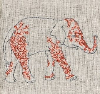 Elephant- perfect for a tattoo