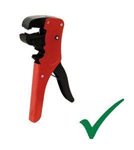 Bresetech Pratique universelle Pince à dénuder universelle automatique Pince coupe-câble Câblepour câbles 0,2–6mm²/0,2–2mm Automatic…