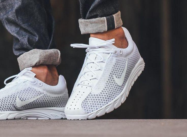 Nike #Mayfly Premium 'Triple White' (blanche) #CremeDeModa