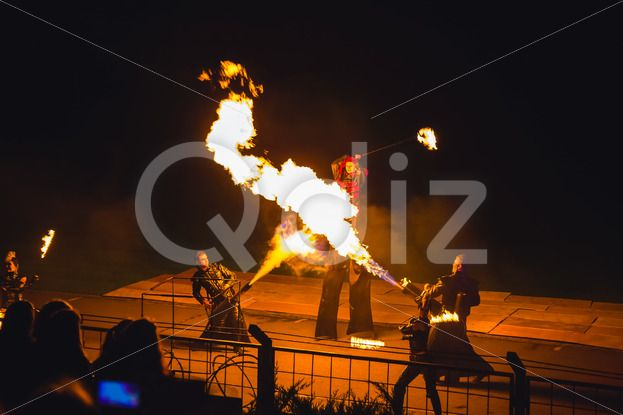 Qdiz Stock Photos Fire show,  #action #artist #blaze #blazing #bonfire #burn #burning #danger #demolished #editorial #effect #energy #exploding #explosion #fiery #fire #firebrand #fireshow #firewall #flame #flamethrower #flametongue #flammable #furious #glowing #guitar #heat #hellfire #hot #ignite #illuminated #illustrative #inferno #light #male #man #motion #night #people #perfomance #power #projector #show #smoke #spitfire #swirl #warm #wildfire #yellow