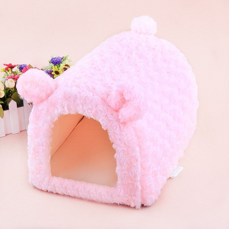 2016 new! pet Princess style Rose Velvet pig /dog / cat /rabbit/ bunny house cage nest bed mats kennel different sizes //Price: $17.95 & FREE Shipping //     #hashtag3