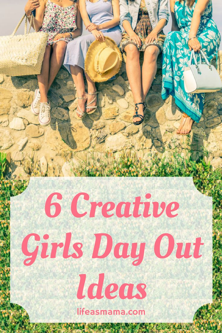 Girls day out isn't always something that we have time for, but when we do, the laughs are plenty and the times are always memorable.Try one of these creative activities with your favorite girls, no matter what day of the year it is!