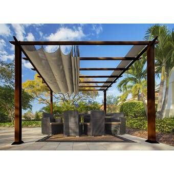 HeritagePatios Aluminum Pergola Wayfair Outdoor