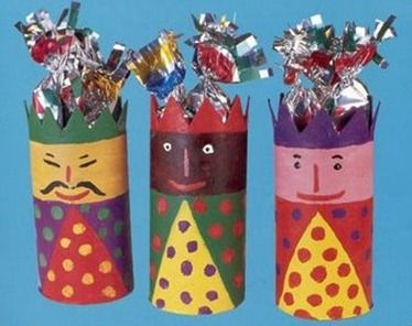 3 Kings - toilet paper roll craft