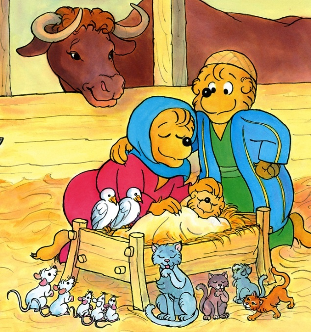 Christmas Blessings from The Berenstain Bears' Storybook Bible to be published in January 2013