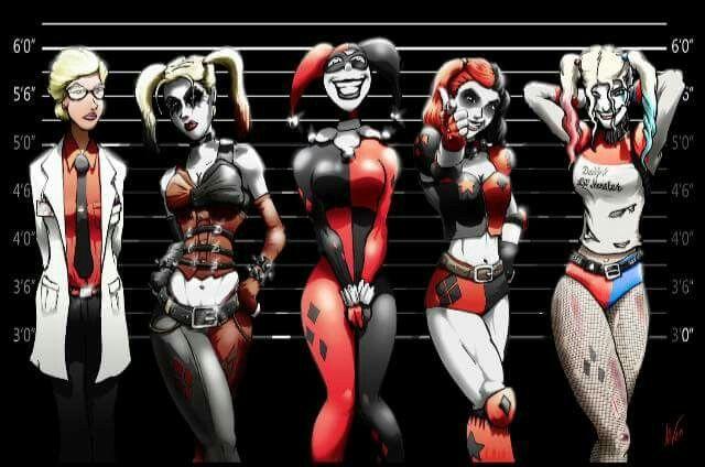#harleyquinn<<<<< Sooo, is Harley 6' or is that just the heels?