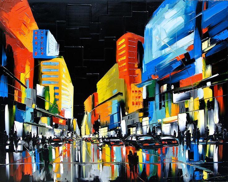Sans limite par Joelle Blouin, artiste présentement exposée aux Galeries Beauchamp. www.galeriebeauchamp.com
