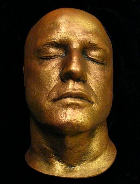 Marlon Brando Life And Death Masks Pinterest Marlon Brando