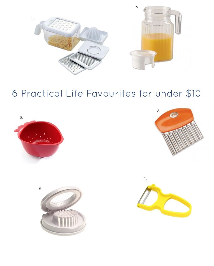Practical Life Kitchen favourites from Our Montessori Life