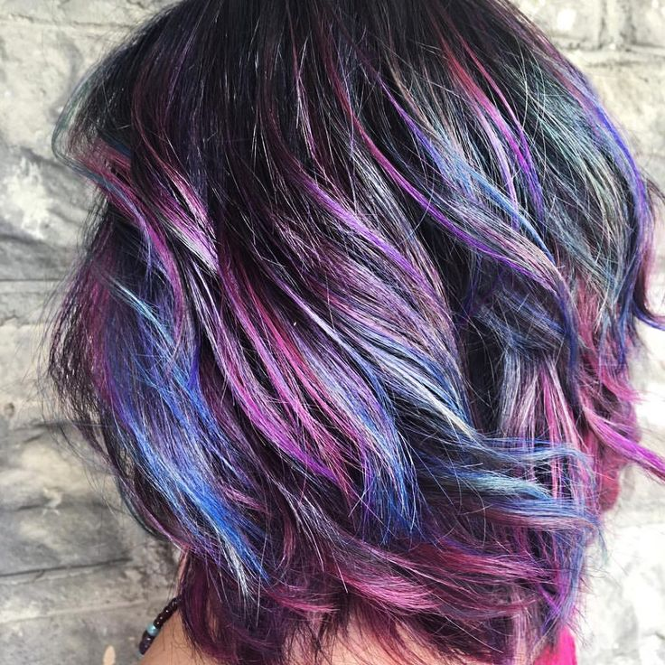 Pin by Christy Ballance on Hair Sмyles Oil slick hair