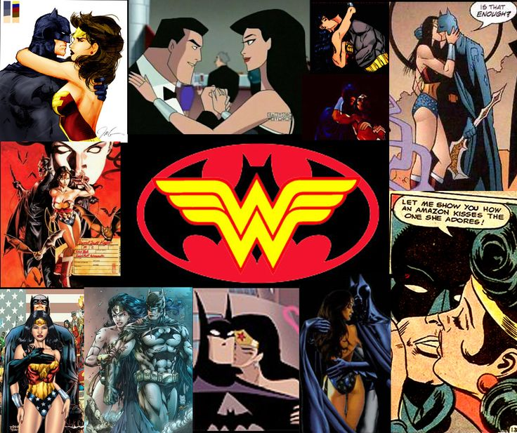 batman and wonder woman | BATMAN & WONDER WOMAN Superhero Fan Art
