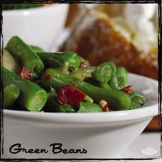 Texas Roadhouse Green Beans Recipe. Seriously!! It's on their website!!