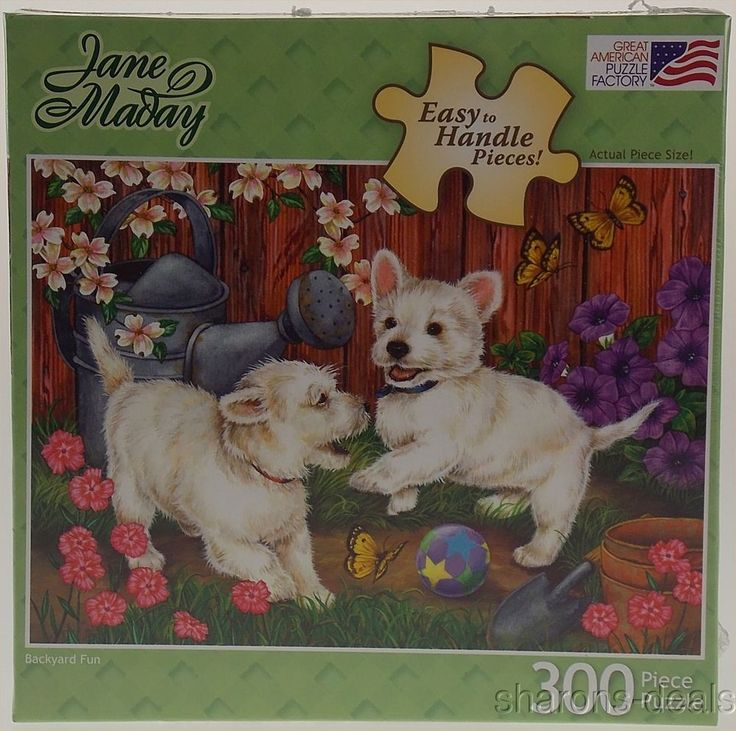 Jane Maday Dog Puppy Jigsaw Puzzle 300