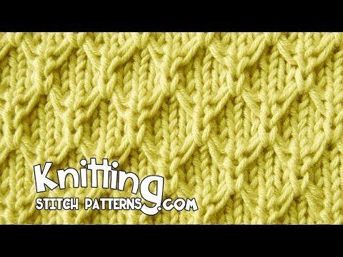 Knitting Stitch Patterns: Mock Honeycomb