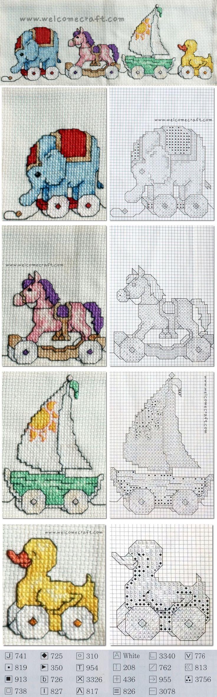Cross Stitch Pillow Pattern