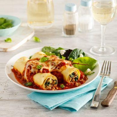 Cannellonis, sauce arrabbiata - Recettes - Cuisine et nutrition - Pratico Pratique