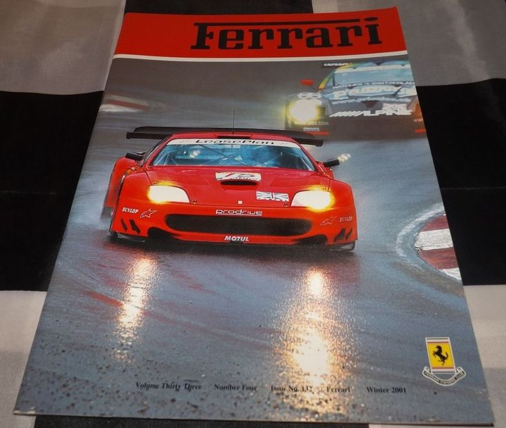 FERRARI OWNERS CLUB MAGAZINE WINTER 2001 132 FERRARI 212E MONTAGNA POZZI 512BB