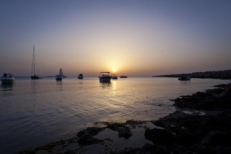 Purple romantic sunset    #love #romance #summerromance #summer #holiday #ibiza #2013 #memories #travel #places #sea #sunset #sun