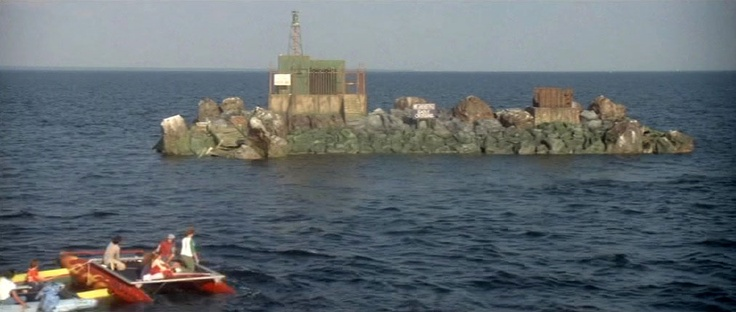 Cable Junction Island from Jaws...said to have been filmed on Choctawhatchee Bay in Fort Walton Beach, FL