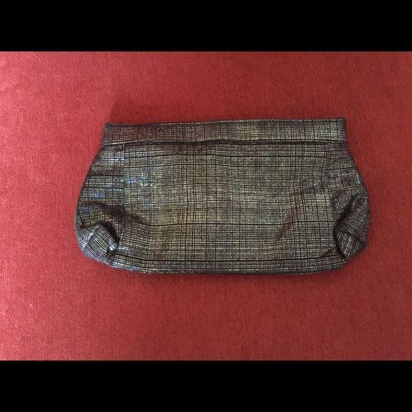 Black & Metallic clutch Black & Metallic clutch Bags Clutches & Wristlets