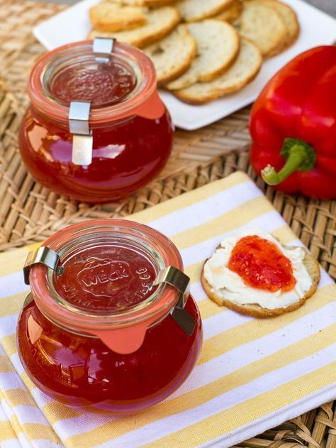 Sweet Red Pepper Jelly