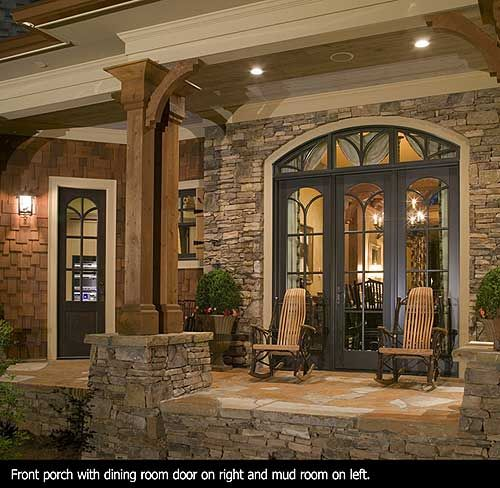 Award Winning Luxury House Plan: Plan 15651GE: Award-Winning Gable Roof Masterpiece