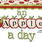 Are you ready to begin your year off bright and fresh looking?  Look no further!  This unit contains an apple theme for your entire classroom: deco...