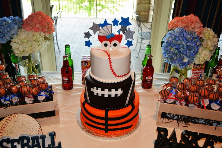sports baby shower decorations for boys boy diaper bouquets baby