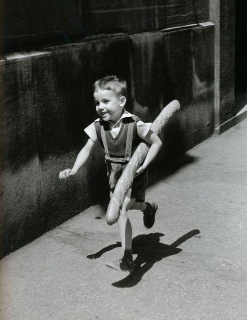 """Willy Ronis - Le Petit Parisien - """"The Little Parisian"""",Paris, 1952"""