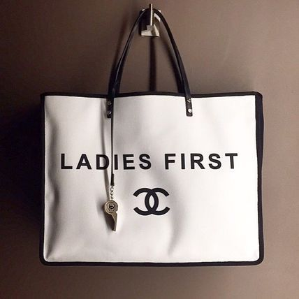 Chanel Ladies First Whistle tote bag