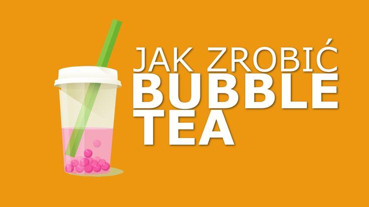 BUBBLE TEA jak zrobić?