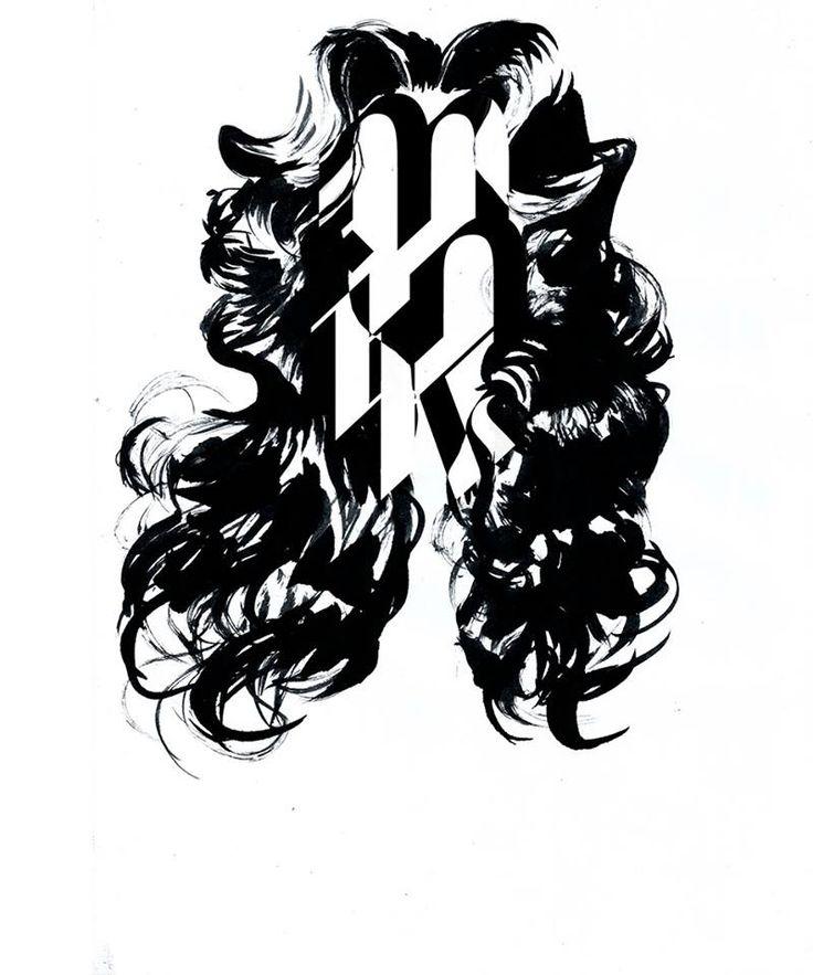 Mink type hair