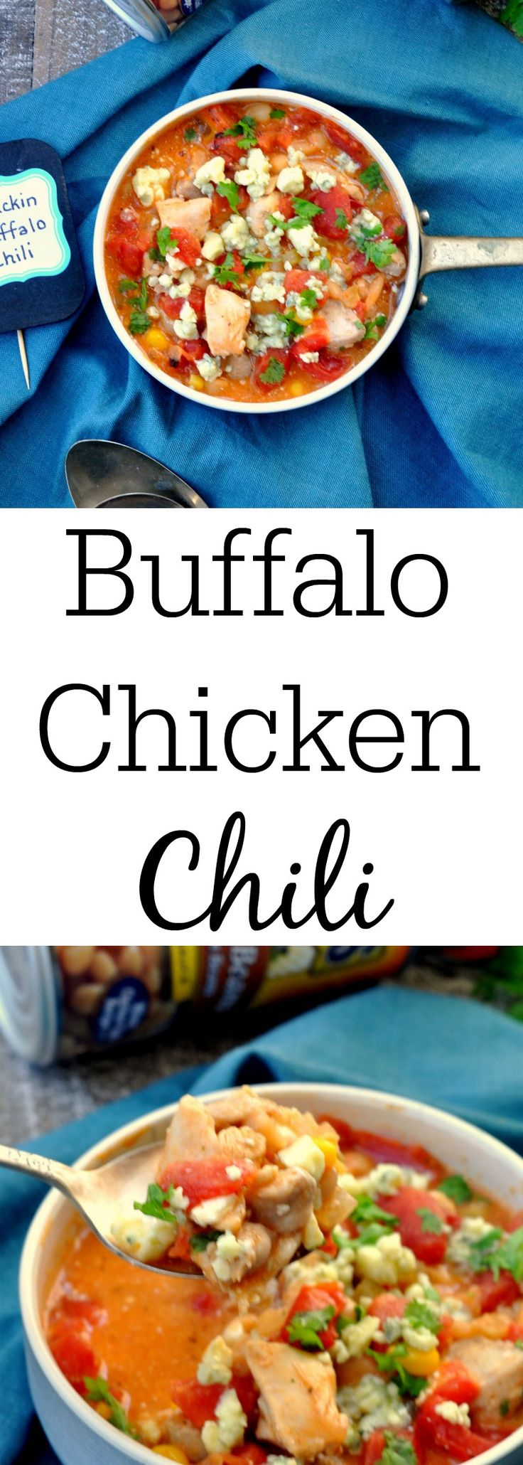 Buffalo Chicken Chili