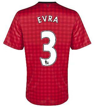 2012-13 Man Utd Nike Home Shirt (Evra 3) - Kids #sports #sportsshopping #sportswear