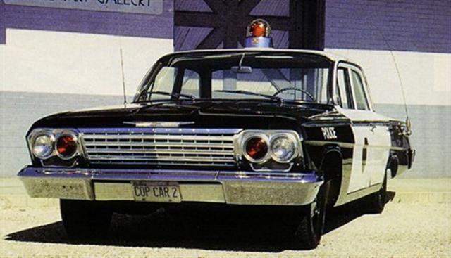1960s Police car