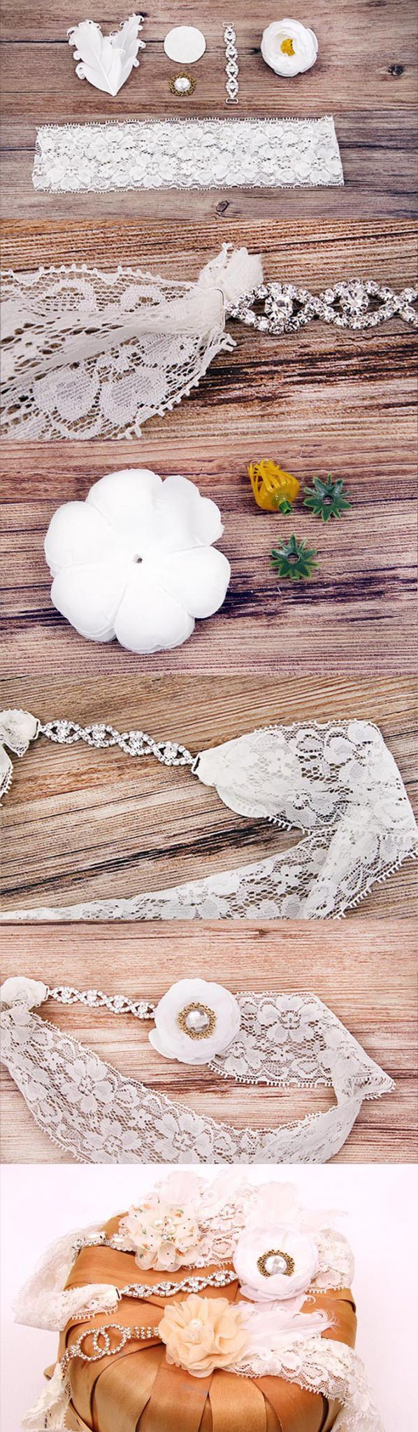 DIY Bridal Gerter Make Your Own Custom Wedding Garter To Match Your Style