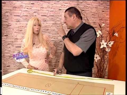 148 - Bienvenidas TV - Programa del 22 de Octubre de 2012 Hermenegildo Zampar explica el molde de un Pantalón.
