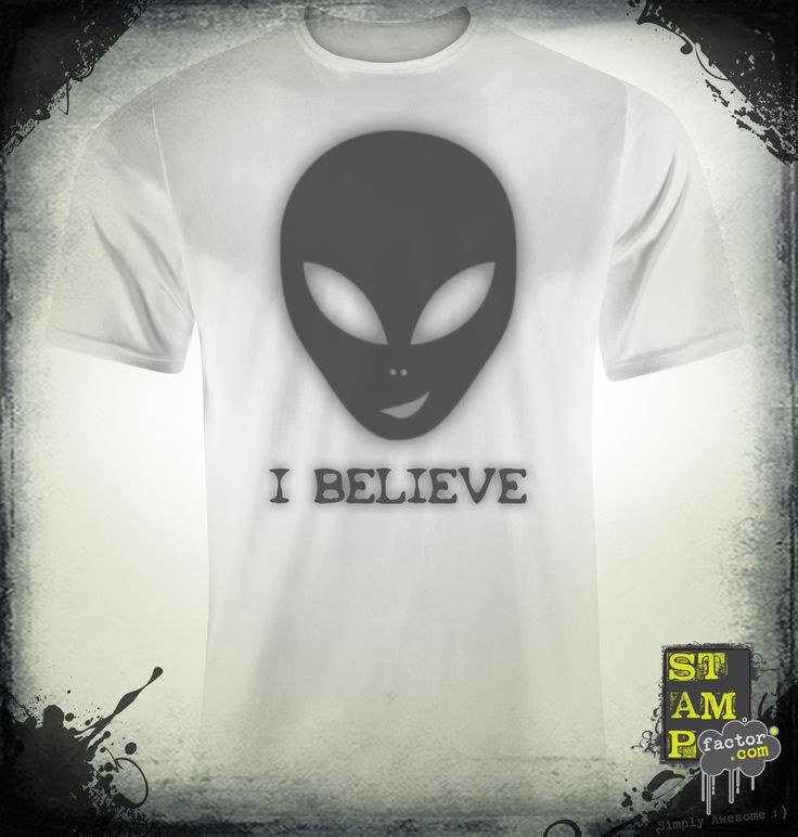 I Believe (Davy's Grey) 2014 Collection - © stampfactor.com *T-SHIRT PREVIEW*