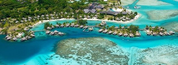 InterContinental Moorea - Imagine an overwater bungalow with sounds of dolphin - your romantic Honeymoon Destination