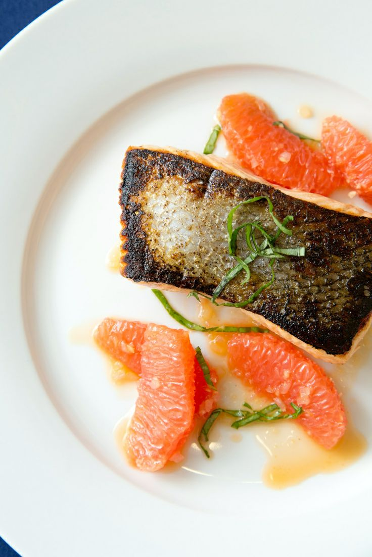 Salmon with Shallot-Grapefruit Sauce | Lunch | Pinterest | Salmon ...