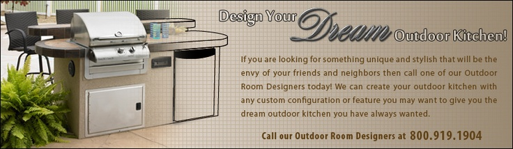 Design Your Own Outdoor Kitchen
