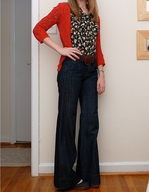 25  best ideas about Trouser jeans outfit on Pinterest | Flare leg ...
