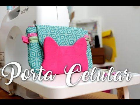 (178) Passo a Passo - Carteira Porta Celular (gatinho) - YouTube