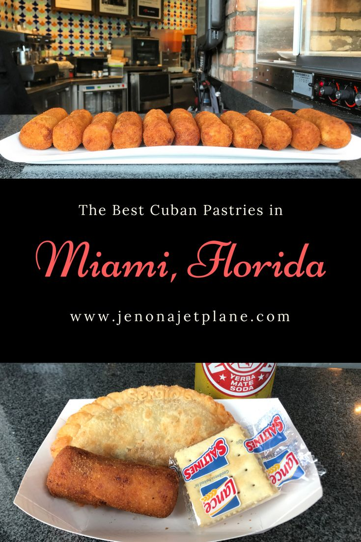 Where to find the best Cuban pastries in Miami, Florida. Everything from croquetas to empanadas!